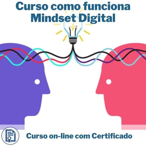 Imagem principal do produto Curso Mindset Digital