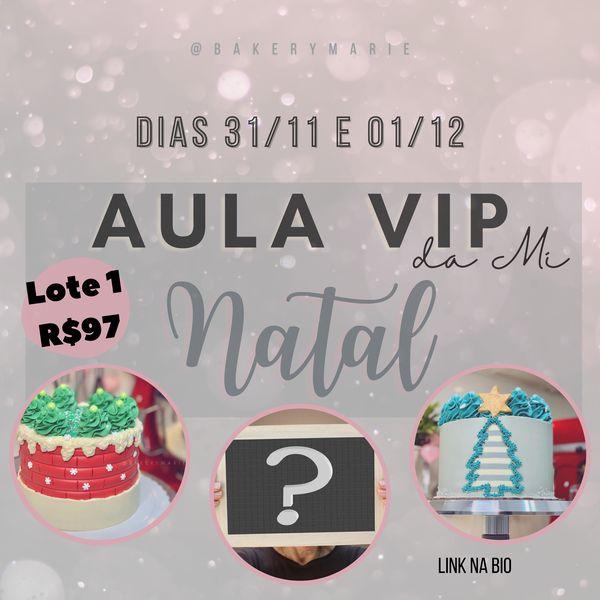 Imagem principal do produto Aula VIP da Mi | Especial de Natal