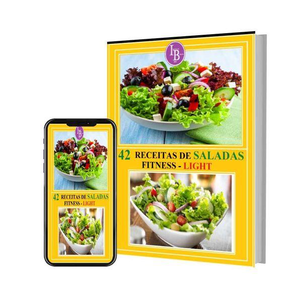 Imagem principal do produto 42 Receitas de Saladas Fit