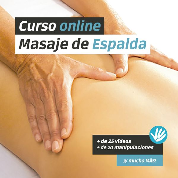 Imagem principal do produto Curso Masaje de Espalda