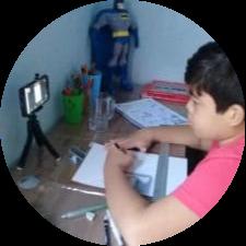 Aluno - Édson 9 Anos