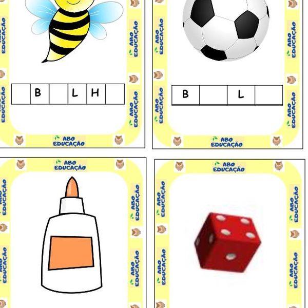 Imagem principal do produto Cards vocálicos