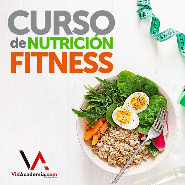 Imagem principal do produto Curso de Nutrición Fitness by Adrián Yépez
