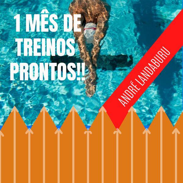 Imagem principal do produto 1 MÊS DE TREINOS DE NATAÇÃO VELOCISTAS E MEIO FUNDO