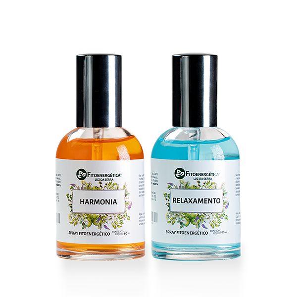 Imagem principal do produto Kit 2 Sprays - Harmonia e Relaxamento
