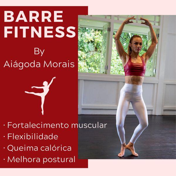 Imagem principal do produto BARRE FITNESS - Programa Progressivo by Aiágoda Morais