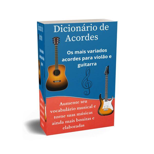 Imagem principal do produto Dicionário de Acordes de Violão e Guitarra