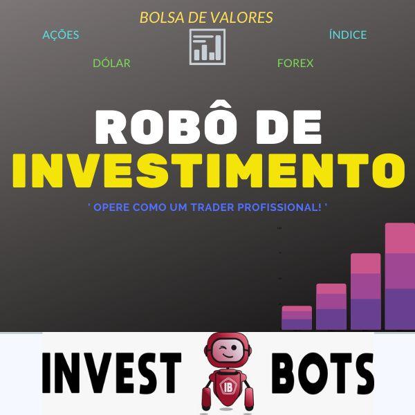robô de investimentos