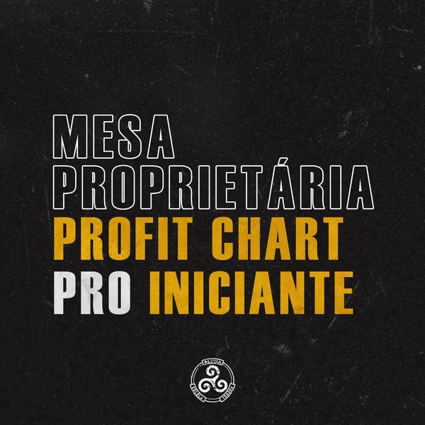 Imagem principal do produto Mesa proprietária Alpha - ProfitChart PRO Iniciante