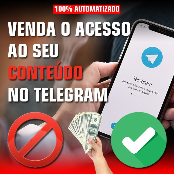 Imagem principal do produto TELEGRAM MONETIZADO