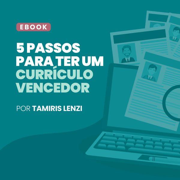 Imagem principal do produto 5 PASSOS PARA TER UM CURRÍCULO VENCEDOR.