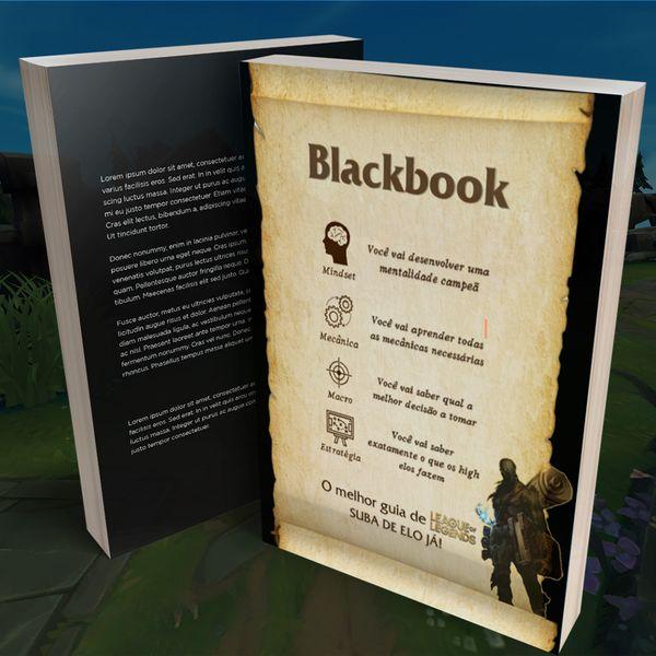 Imagem principal do produto Blackbook Do league Of Legends