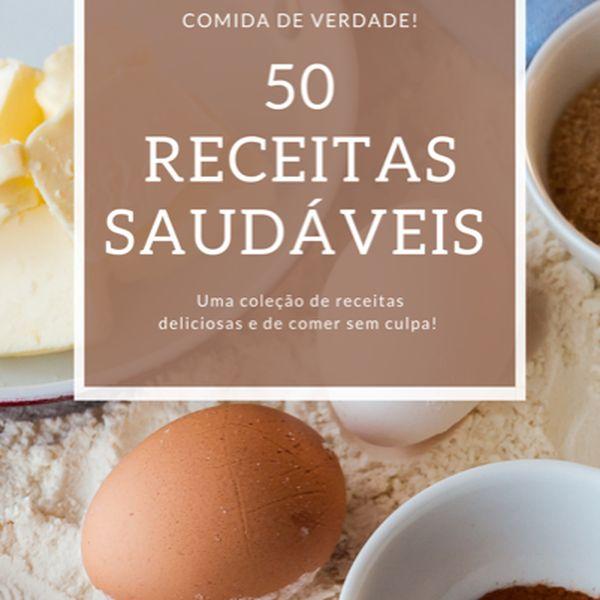 Imagem principal do produto 50 Receitas Saudáveis (Low Carb, Salgadas e Doces)