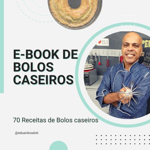 Imagem principal do produto E-book Chef Edu Saloti - 70 Receitas
