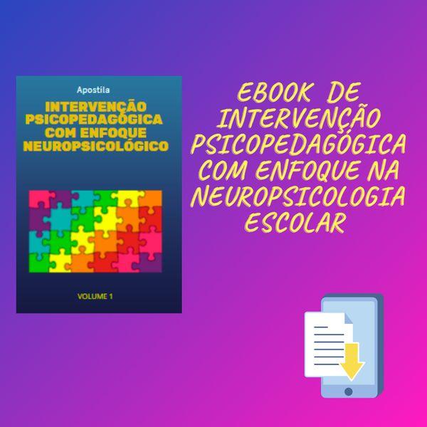 Imagem principal do produto APOSTILA DE INTERVENÇÃO PSICOPEDAGÓGICA