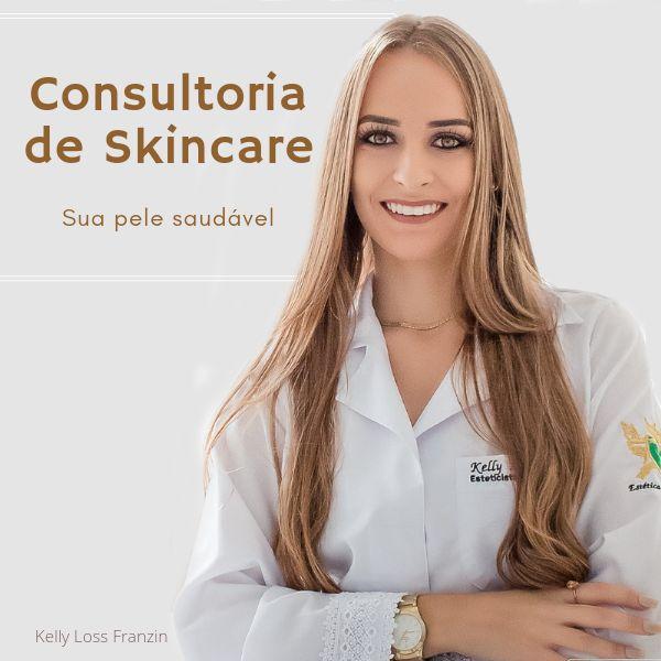 Imagem principal do produto Consultoria de Skincare   Sua pele saudável por Kelly Loss, Esteticista