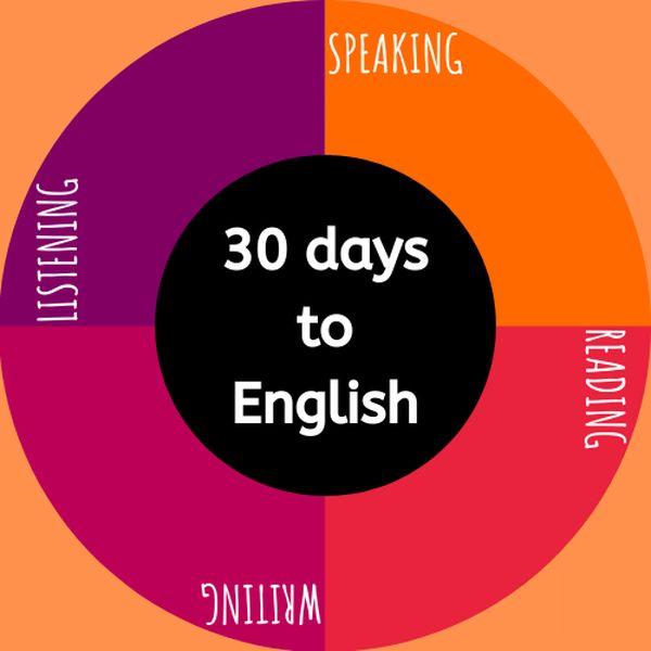 Imagem principal do produto 30 days to English