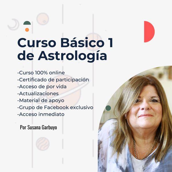 Imagem principal do produto Astrología: Curso Básico 1