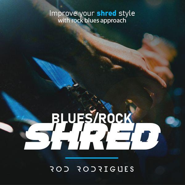 Imagem principal do produto Blues/Rock Shred