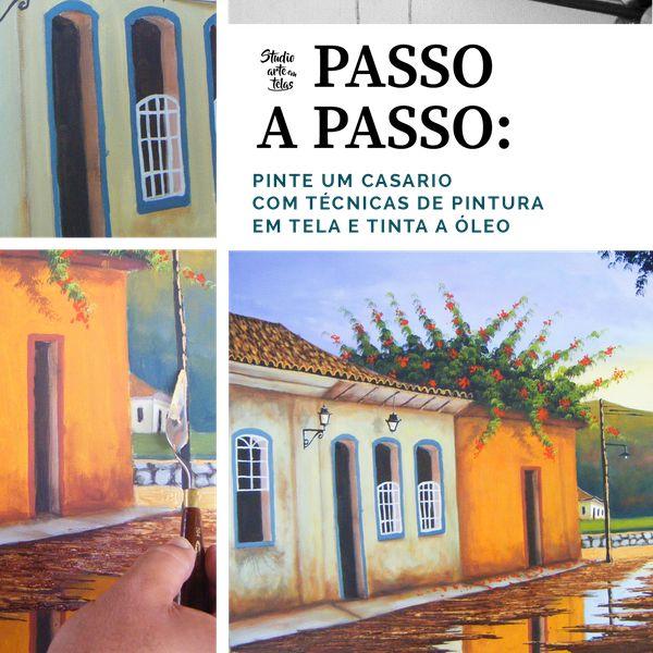 Imagem principal do produto Passo a Passo: Pintando um casario
