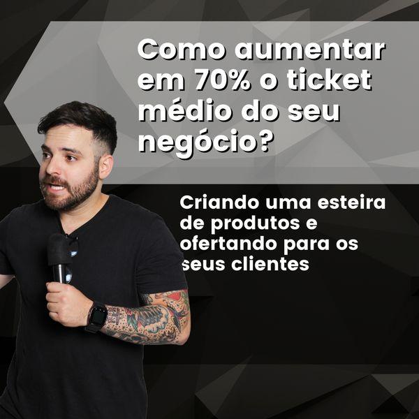Imagem principal do produto Como aumentar em 70% o ticket médio do seu negócio?