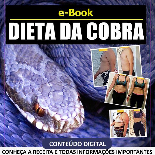 Imagem principal do produto Dieta da Cobra - Como funciona a famosa Snake Diet e Suco de Cobra