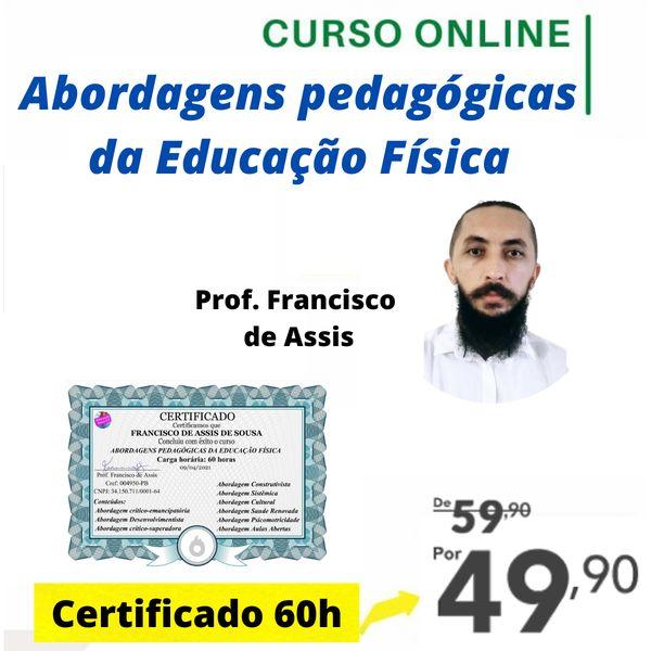 Imagem principal do produto Curso online Abordagens pedagógicas da educação física