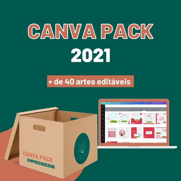Imagem principal do produto CANVA PACK EMPREENDEDOR