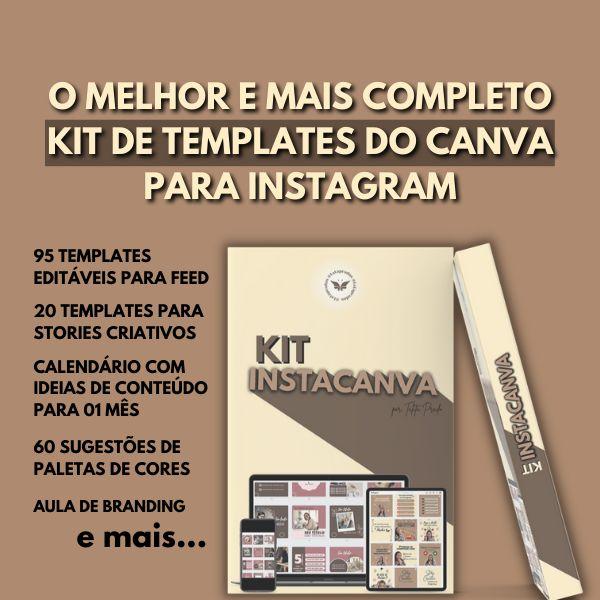 Imagem principal do produto Kit Insta Canva