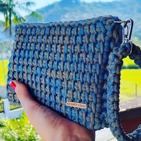 Imagem principal do produto Curso/Workshop Carteira de Crochê Tunisiano