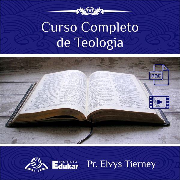 Imagem principal do produto CURSO COMPLETO DE TEOLOGIA