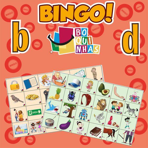 Imagem principal do produto Bingo de b-d - Fixação Ortográfica