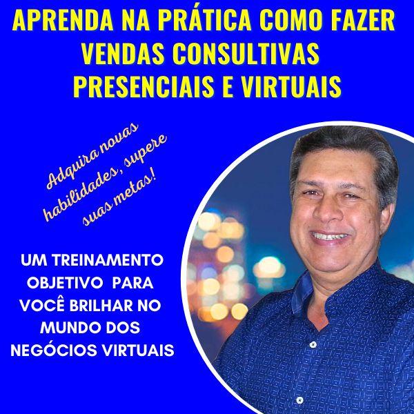 Imagem principal do produto CURSO DE VENDAS CONSULTIVAS PRESENCIAIS E VIRTUAIS