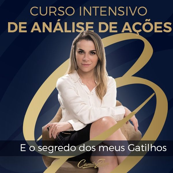 Imagem principal do produto CURSO INTENSIVO de Análise de ações