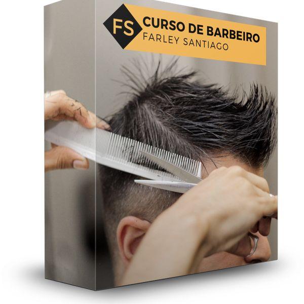 Imagem principal do produto Curso de Barbeiro(a) Farley Santiago