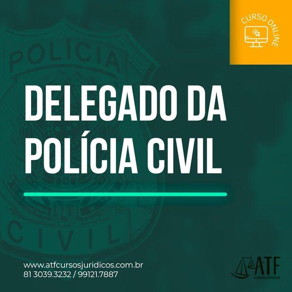 Imagem principal do produto Delegado de Polícia Civil