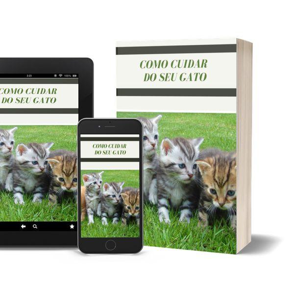 Imagem principal do produto Guia Como Cuidar do Seu Gato