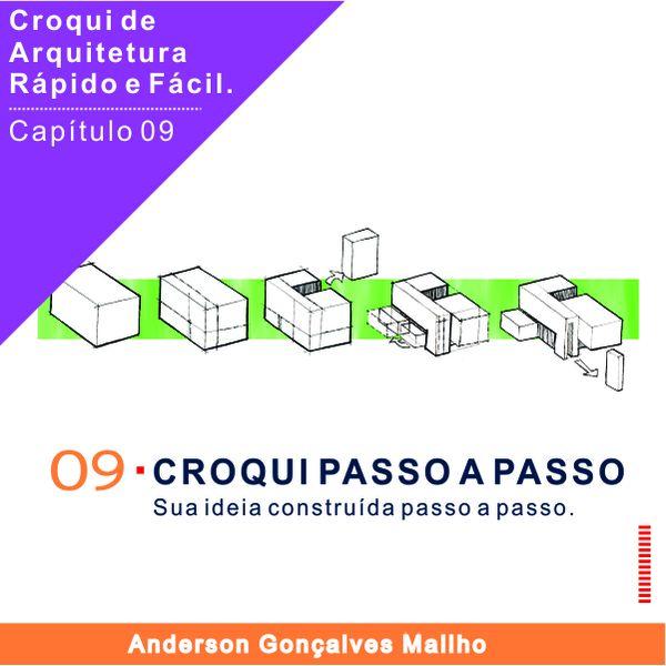 Imagem principal do produto Curso de Croqui de Arquitetura - Capítulo 09 – Construindo passo a passo