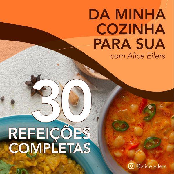 Imagem principal do produto 30 refeições completas, práticas e sem frescura