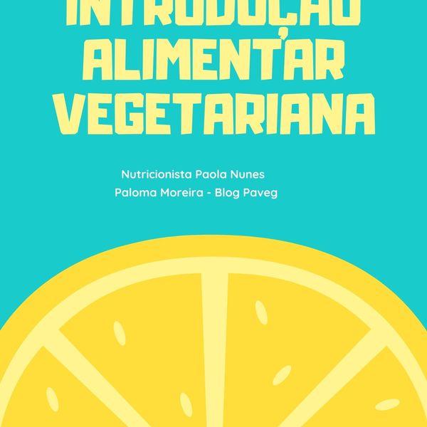 Imagem principal do produto Introdução Alimentar Vegetariana