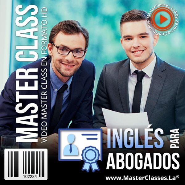 Imagem principal do produto Inglés para Abogados