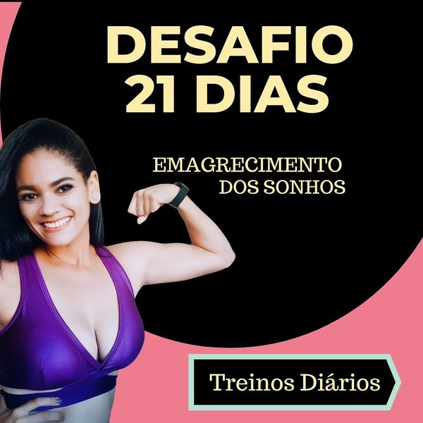 Imagem principal do produto Desafio de 21 Dias Emagrecimento dos sonhos