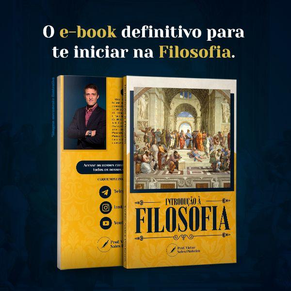 Imagem principal do produto E-book - Introdução à Filosofia