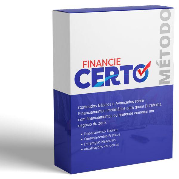 Imagem principal do produto Financie Certo 20K - Fature Alto com Construções Financiadas