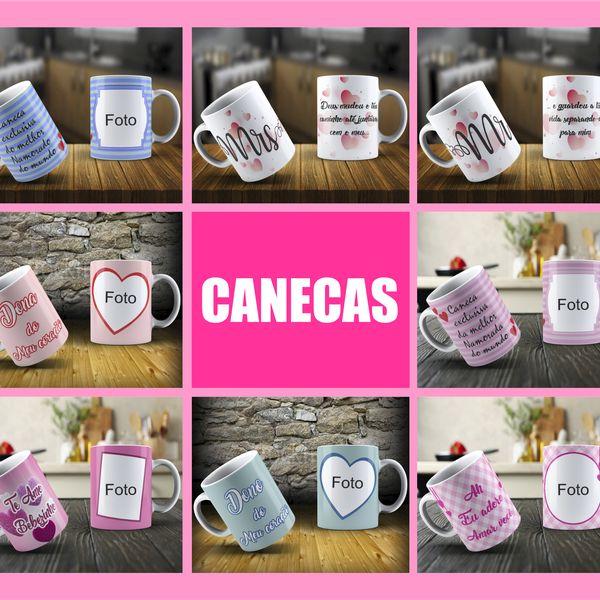 Imagem principal do produto Artes para caneca tema Dia dos Namorados 2.0