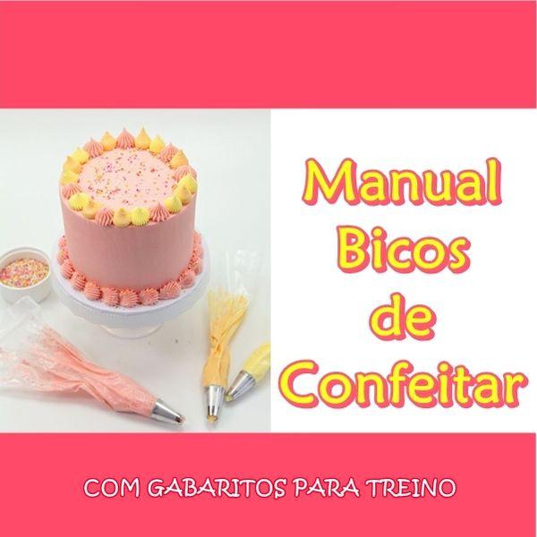 Imagem principal do produto Manual Dos Bicos de Confeitar