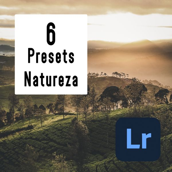 Imagem principal do produto 6 Nature Lightroom Preset - PC & Mobile