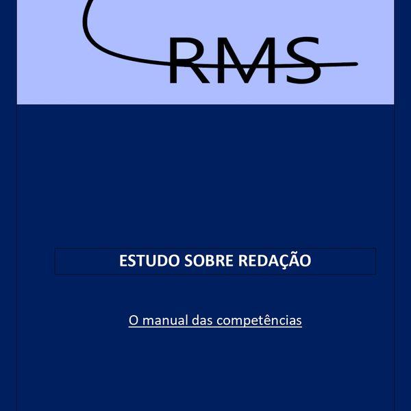 Imagem principal do produto Manual das Competências da Redação do Enem.
