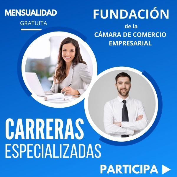 Imagem principal do produto Carreras Especialidad en Fundación de la Cámara Empresarial