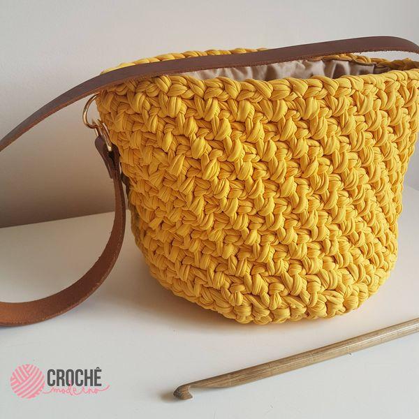 Imagem principal do produto Curso Completo de Bolsas em Crochê
